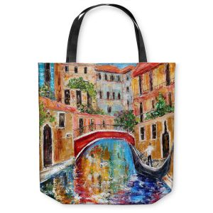 Unique Shoulder Bag Tote Bags | Karen Tarlton Venice Magic II