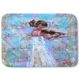 Decorative Bathroom Mats | Karen Tarlton - Violin Lesson | Orcheastra Ballerina