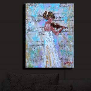 Nightlight Sconce Canvas Light | KarenTarlton - Violin Lesson | Orcheastra Ballerina
