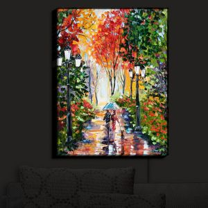 Nightlight Sconce Canvas Light | Karen Tarlton's Walking the Dog