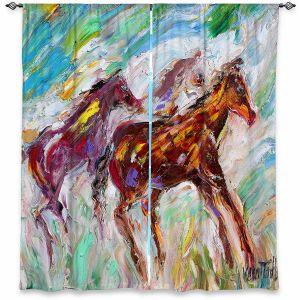 Decorative Window Treatments | Karen Tarlton - Wild Mustangs Horses | Animals Horses Nature