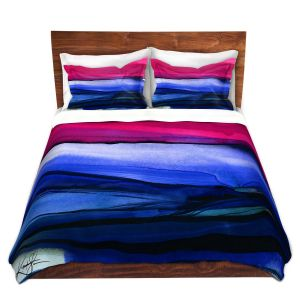 Artistic Duvet Covers and Shams Bedding | Kathy Stanion - Abstraction XXIII