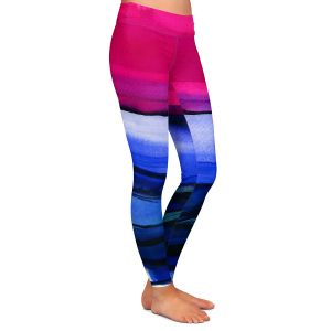 Casual Comfortable Leggings | Kathy Stanion - Abstraction XXIII