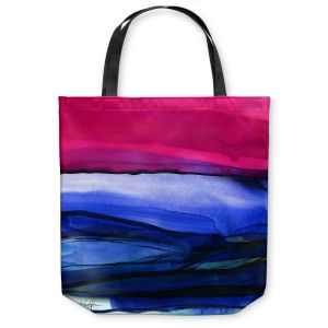 Unique Shoulder Bag Tote Bags |Kathy Stanion - Abstraction XXIII