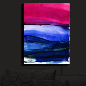 Nightlight Sconce Canvas Light | Kathy Stanion - Abstraction XXIII | Abstract Colorful