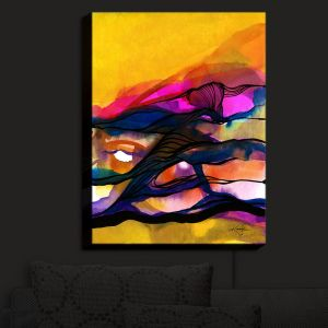 Nightlight Sconce Canvas Light | Kathy Stanion - Abstraction XXVI | Abstract Colorful