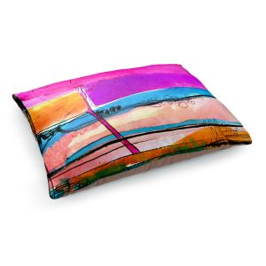 Decorative Dog Pet Beds | Kathy Stanion - Abstraction XXVII