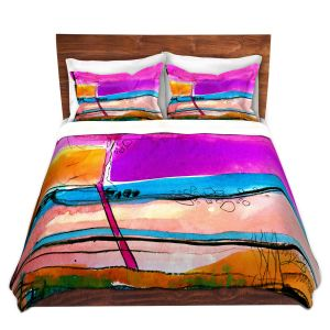 Artistic Duvet Covers and Shams Bedding | Kathy Stanion - Abstraction XXVII