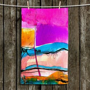 Unique Bathroom Towels   Kathy Stanion - Abstraction XXVII