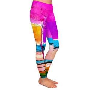 Casual Comfortable Leggings | Kathy Stanion - Abstraction XXVII