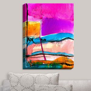 Decorative Canvas Wall Art | Kathy Stanion - Abstraction XXVII | Abstract Colorful