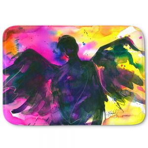 Decorative Bathroom Mats | Kathy Stanion - Angel 21