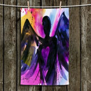 Unique Hanging Tea Towels | Kathy Stanion - Angel 25 | Religious Religion Bible