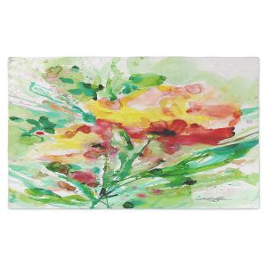 Artistic Pashmina Scarf   Kathy Stanion - Blooming Joy   Flowers Nature Abstract