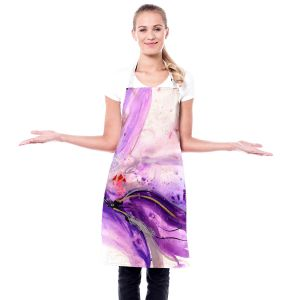 Artistic Bakers Aprons   Kathy Stanion - Blooming Wonder 1   Flowers Nature Abstract