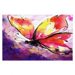 Decorative Floor Coverings | Kathy Stanion - Butterfly Abstract