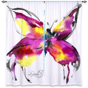 Decorative Window Treatments | Kathy Stanion Butterfly Bliss 56