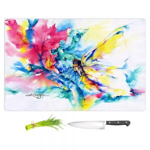 Artistic Kitchen Bar Cutting Boards | Kathy Stanion - Butterfly