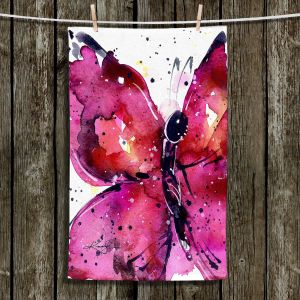 Unique Hanging Tea Towels | Kathy Stanion - Butterfly Delight XV | Whimsical Butterfly