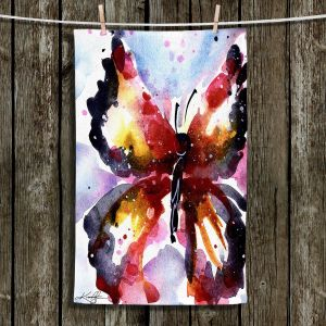 Unique Hanging Tea Towels | Kathy Stanion - Butterfly Delight XVIII | Whimsical Butterfly