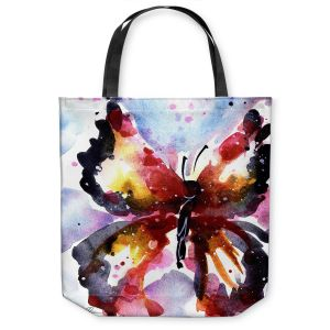 Unique Shoulder Bag Tote Bags  Kathy Stanion - Butterfly Delight XVIII