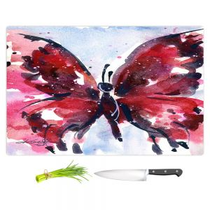Artistic Kitchen Bar Cutting Boards | Kathy Stanion - Butterfly Delight IX