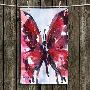Unique Hanging Tea Towels | Kathy Stanion - Butterfly Delight IX | Whimsical Butterfly
