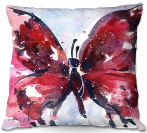 Throw Pillows Decorative Artistic   Kathy Stanion - Butterfly Delight IX