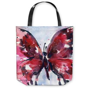 Unique Shoulder Bag Tote Bags |Kathy Stanion - Butterfly Delight IX