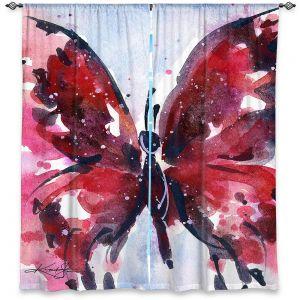 Decorative Window Treatments   Kathy Stanion - Butterfly Delight IX