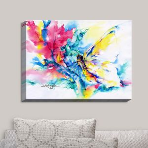 Decorative Canvas Wall Art   Kathy Stanion - Butterfly   Whimsical Butterfly