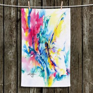 Unique Hanging Tea Towels | Kathy Stanion - Butterfly | Whimsical Butterfly