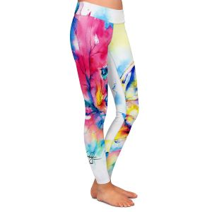 Casual Comfortable Leggings | Kathy Stanion - Butterfly