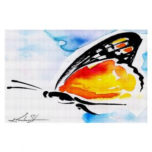 Decorative Floor Coverings | Kathy Stanion Butterfly Love XXX
