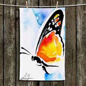 Unique Bathroom Towels | Kathy Stanion - Butterfly Love XXX