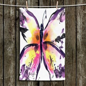 Unique Hanging Tea Towels | Kathy Stanion - Butterfly Magic XIII | Whimsical Butterfly