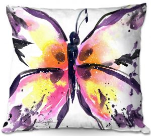 Throw Pillows Decorative Artistic   Kathy Stanion - Butterfly Magic XIII
