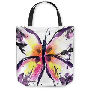 Unique Shoulder Bag Tote Bags |Kathy Stanion - Butterfly Magic XIII