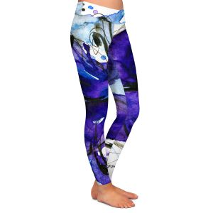 Casual Comfortable Leggings | Kathy Stanion Butterfly Song IV