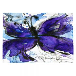 Decorative Kitchen Placemats 18x13 from DiaNoche Designs by Kathy Stanion - Butterfly Song IV