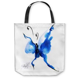 Unique Shoulder Bag Tote Bags | Kathy Stanion Butterfly Song 54
