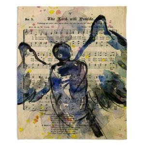 Decorative Fleece Throw Blankets   Kathy Stanion - Calling All Angels XLIII