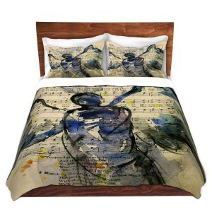 Artistic Duvet Covers and Shams Bedding   Kathy Stanion - Calling All Angels XLIII