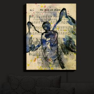 Nightlight Sconce Canvas Light | Kathy Stanion - Calling All Angels XLIII | Sheet Music Angels Prayer