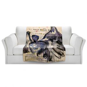 Artistic Sherpa Pile Blankets | Kathy Stanion - Calling All Angels XLIV