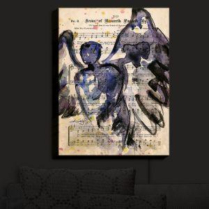 Nightlight Sconce Canvas Light | Kathy Stanion - Calling All Angels XLIV | Sheet Music Angels Prayer