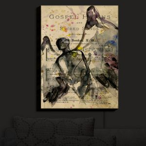 Nightlight Sconce Canvas Light | Kathy Stanion - Calling All Angels XLV | Sheet Music Angels Prayer