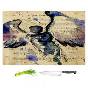 Artistic Kitchen Bar Cutting Boards | Kathy Stanion - Calling All Angels XLVII