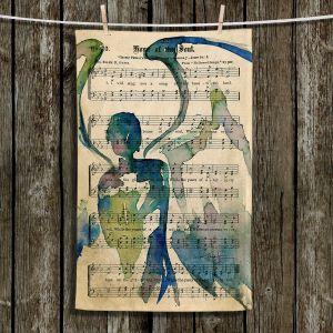 Unique Hanging Tea Towels | Kathy Stanion - Calling All Angels L | Sheet Music Angels Prayer