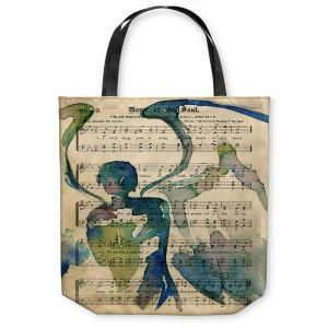Unique Shoulder Bag Tote Bags |Kathy Stanion - Calling All Angels L